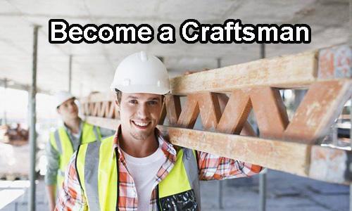 Became a craftsman