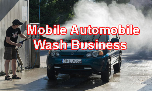Mobile Automobile wash business