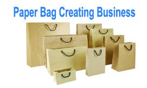 Innovative business ideas- Paper Bag creating business