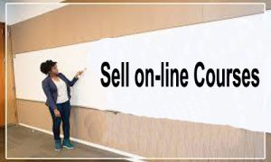 Sell on-line Courses