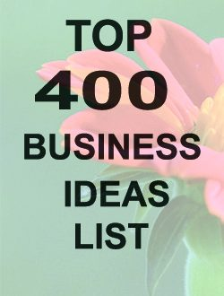 Top 400 business ideas list