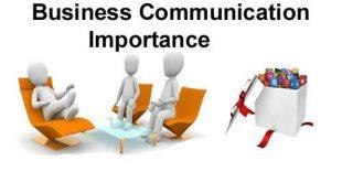 BUSINESS COMMUNICATIONS IMPORTANCE