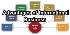 advantage of international business
