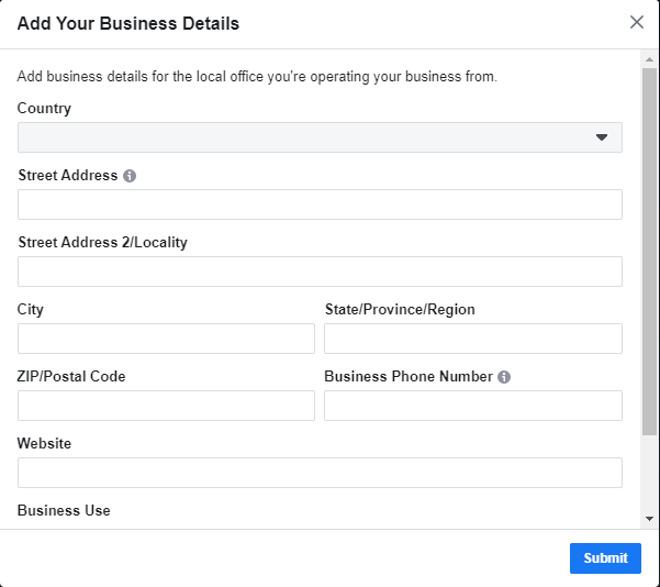 Creating a Facebook Business Manager Account