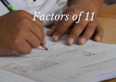 Factors of 11